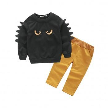 Baby & Toddler Boy's Monster Long-Sleeve Top & Pants Set (2pc-set)