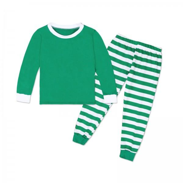 Family Matching Classic Stripes Long sleeve Top and Pants Pajamas Set