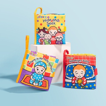 Cloth Baby Book Intelligence Development Educational Toy Soft Cloth Learning Cognize Books For 0 Months+