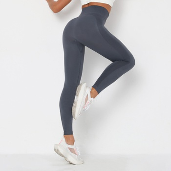 high-waist Normal leggings