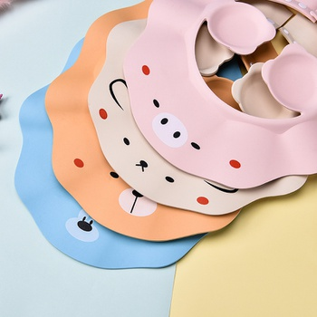 Cartoon Cute Pattern Bathing Protection Adjustable Baby Shower Cap