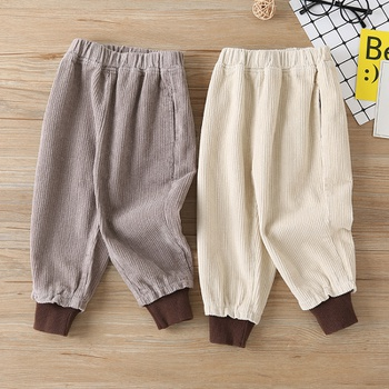 Toddler Boy Solid Casual Pants