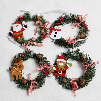 1pc Cute Small Hanging Christmas Garland Home Decoration