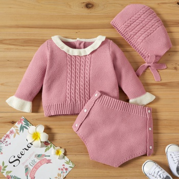 Baby Girl Sweet Solid Sets