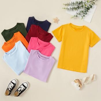 Kids Unisex Multicolor Short-sleeve Tee