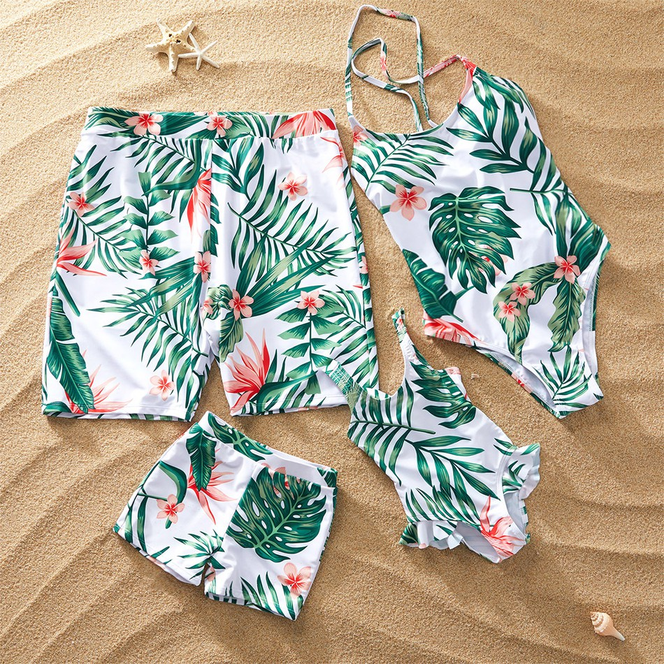782cd49012b Summer Floral Breeze Family Matching Swimsuit at PatPat.com