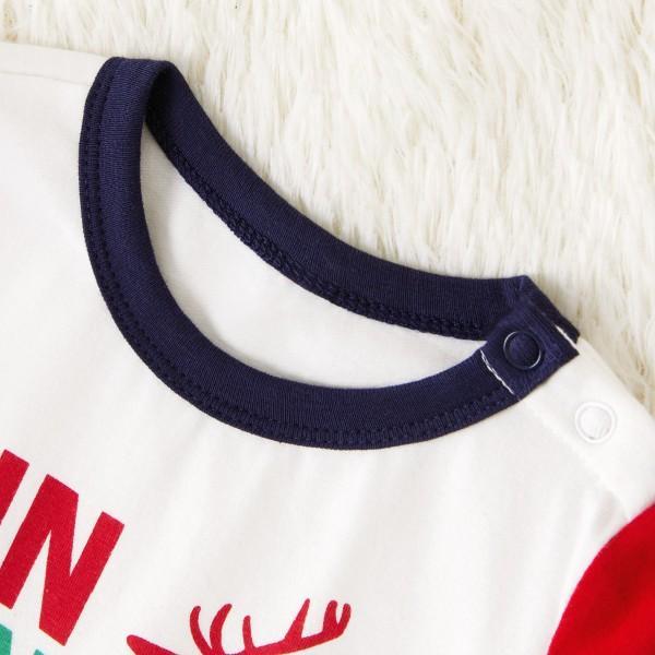 Christmas Deer Printed Family Matching Pajamas Set