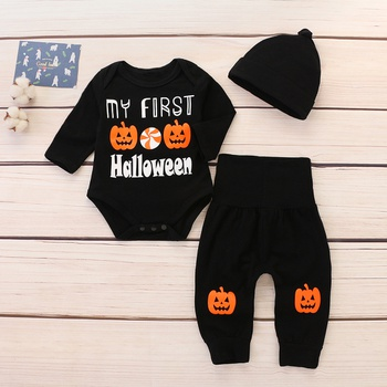 12322943e59 3-piece My First Halloween Outfit