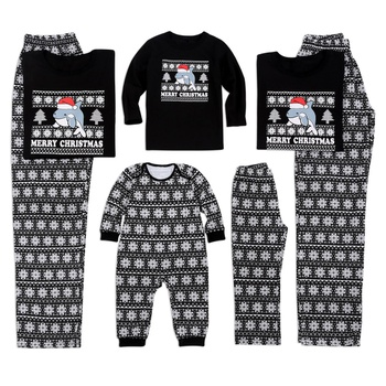 4be3deeb3e6d Sleeping With Dolphin Christmas Family Matching Pajamas