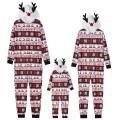 Funny Reindeer Hat Christmas Pajamas