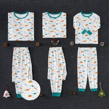 Full of Dinosaur Family Pajamas