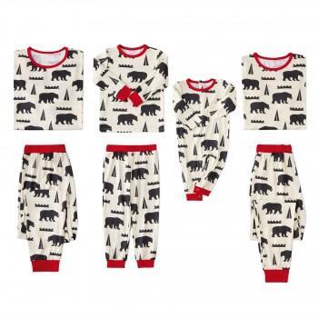Bear Bear Matching Pajamas for Bear Famil