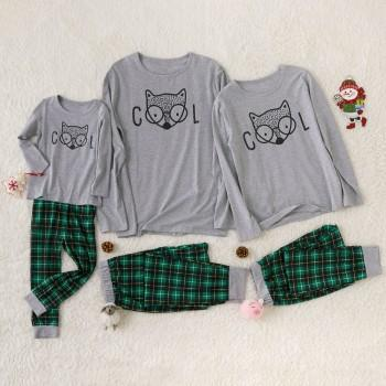 COOL FOX Family Matching Pajamas