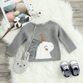 Unicorn Sweater in Grey