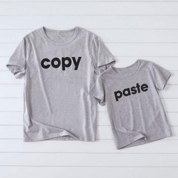"""""""Copy Paste"""" Daddy and Me Matching T-shirt"""