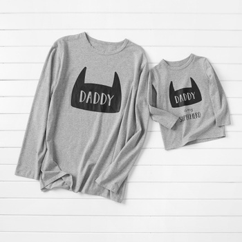 Daddy Is My Hero Matching Long Sleeve T-shirts