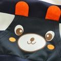 Cute Bear Stripe 2-piece Set