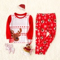 Curious deer Family Pajamas Sets