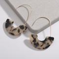 Stylish Leopard Geo Design Earrings