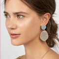 Pretty Rhinestone Stud Irregular Earrings