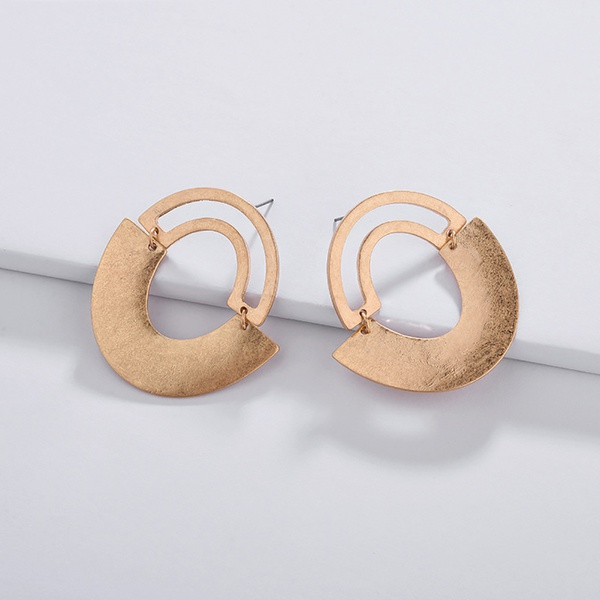 Stylish Geo Design Hollow out Earrings