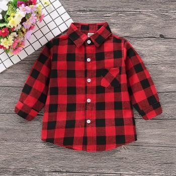 Red Black Checkered Shirt