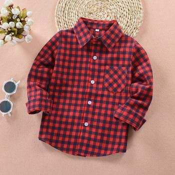 Fashionable Plaid T-shirts for Kid