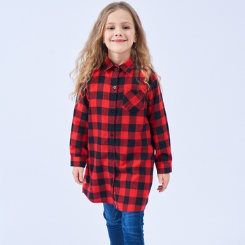 Beautiful Plaid T-shirts for Girl
