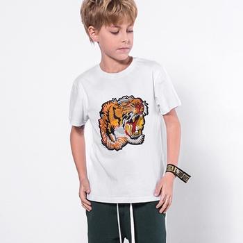 Stylish Tiger Printed Tee for Kid