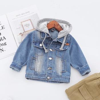 Stylish Boys Denim Hooded Jacket