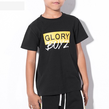 Boys Letter Printed Tee for Kid