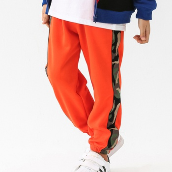 Sporty Camouflage Print Pants