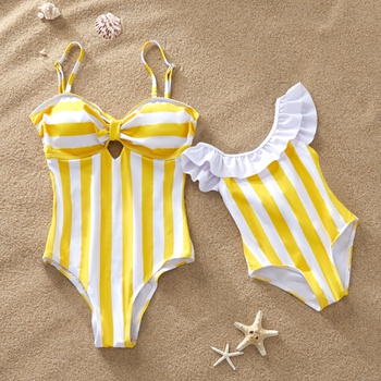 0218eef786bfb Yellow and Blue are Available Matching Swimsuits