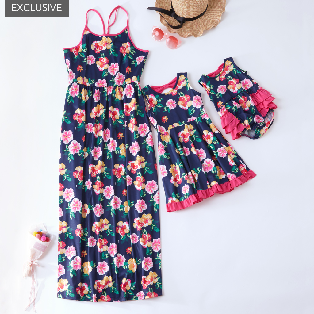 Girls Mosaic Print Cotton Strap Summer Fashion Shorts Playsuit 3 to 7 Years