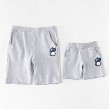 9308e7ca6e Dinosaur Printed Shorts for Daddy and Me