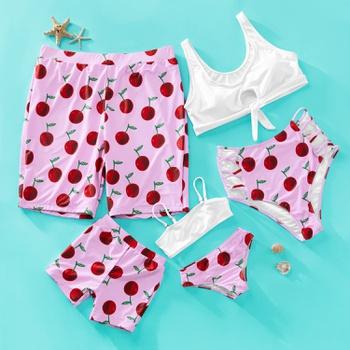 Cherry 2-piece Family Matching Swimwear