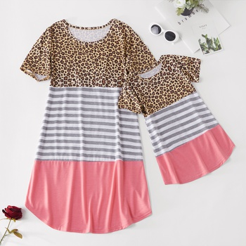 44b6ad596a Casual Dress for Mom and Me