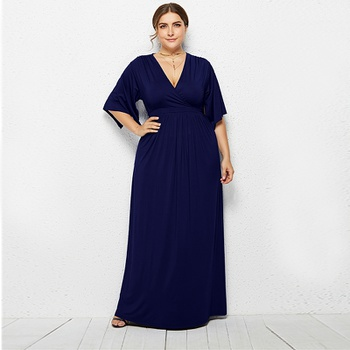 3444a6bfaea Elegant Solid Plus-size High-rise Maxi Dress. $21.99 $29.99. Size:  MLXLXXL3XL · Allover Flower One-piece Ruffle Swimwear Set
