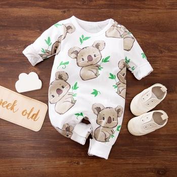 Baby Boy / Girl Koala Print Jumpsuit