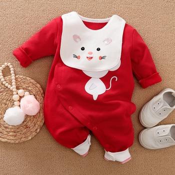 Baby Boy / Girl Cute Cat Print Jumpsuit