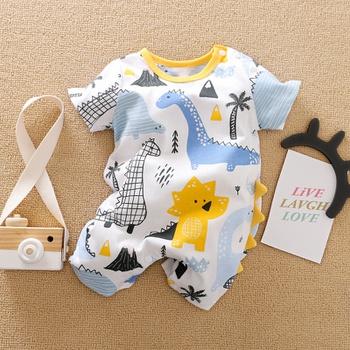 Baby Dinosaur Print Bodysuit