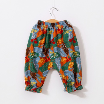 Baby Girl Floral Pants