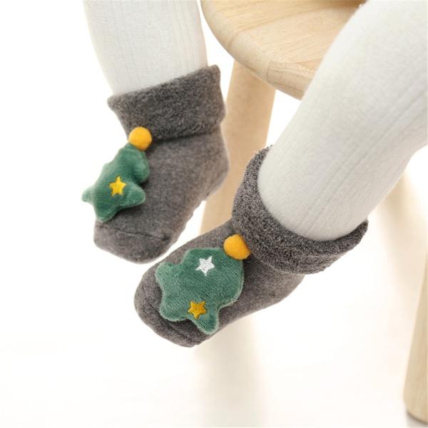 Lovely 3D Christmas Decor Socks
