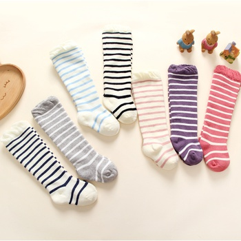 1-pair Baby's Striped Over-knee Socks