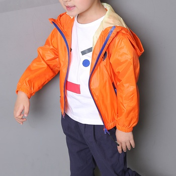Cool Heart Embroidered Long-sleeve Hooded Jacket for Boy