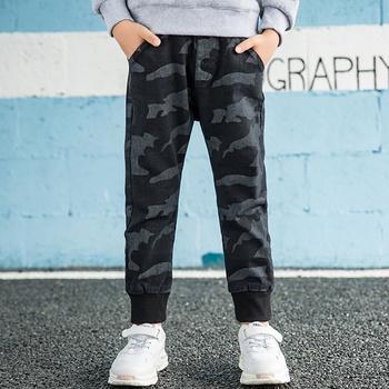 Stylish Boys Camouflage Jeans