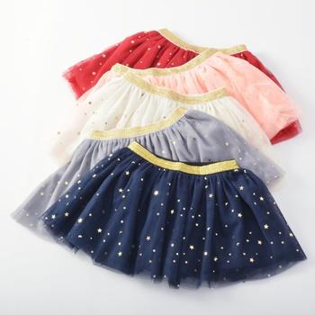 Baby and Toddler Girl Shiny Star Tulle Skirt