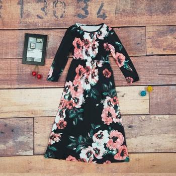 Fashionable Allover A-line Maxi dress