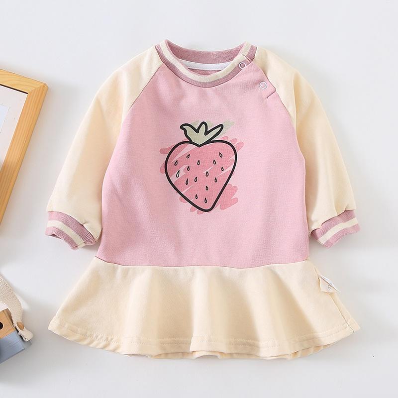 7c6529b68 Toddler Baby/Toddler Girl's Strawberry Dress at PatPat.com