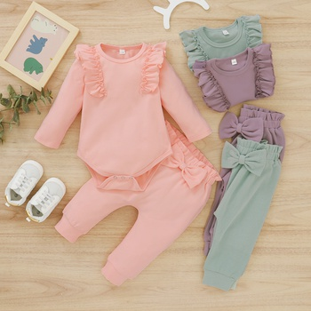 Baby Girl Solid Baby's Sets